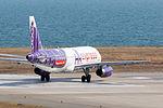 HK Express ,UO687 ,Airbus A320-232 ,B-LCA ,Departed to Hong Kong ,Kansai Airport (16624142149).jpg