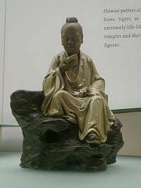 HK Museum of Art TST Figure Zhang Liang Reading.JPG
