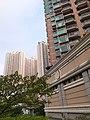 HK TKL 調景嶺 Tiu Keng Leng 彩明街 Choi Ming Street 都會駅 MetroTown facade Kin Ming Estate October 2019 SS2.jpg