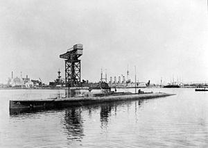 HMAS J1 in 1919