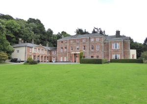 Haccombe - Haccombe House in 2017