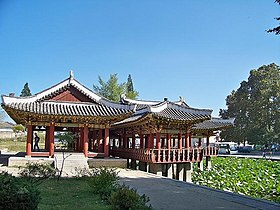 The Buyong Pavilion in Haeju