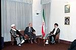 Hafez al-Assad visit to Iran, 1 August 1997 (14).jpg