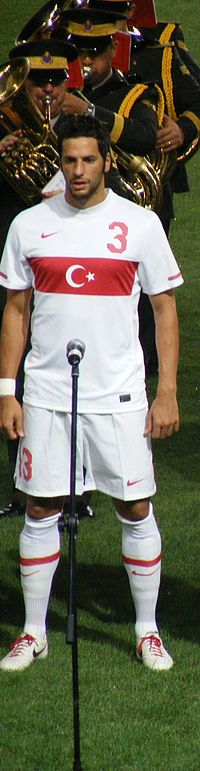 Hakan Balta in national team (11.08.2010).JPG
