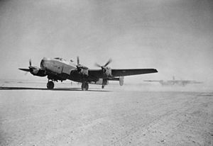 Halifax and Horsa take off for invasion of Sicily 1943.jpg