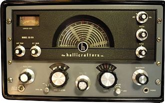 Hallicrafters - Hallicrafters receiver SX-115, circa 1961