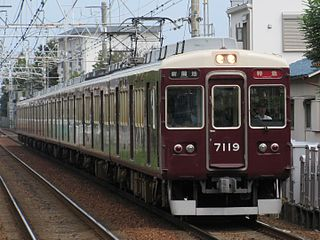 Hankyu 7000 series Japanese electric multiple unit train type