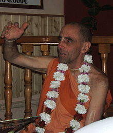 Hanumatpreshaka Swami in Madrid.JPG