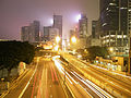 Harcourt Road at night (revised).jpg