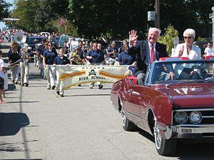 Harrisville, Michigan - Harmony Weekend 2007, Parade
