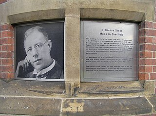 Harry Brearley English inventor of stainless steel