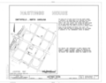 Hastings House, Johnston Street (moved to First Street), Smithfield, Johnston County, NC HABS NC,51-SMIT,1- (sheet 1 of 4).png