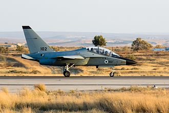 Israeli Air Force flight academy - M-346 Master advanced trainer of the combat pilots and combat navigators department