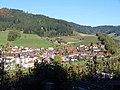 Hausach, Aussicht von der Burgruine Husen 1.jpg