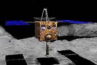 <i>Hayabusa</i> Japanese unmanned spacecraft