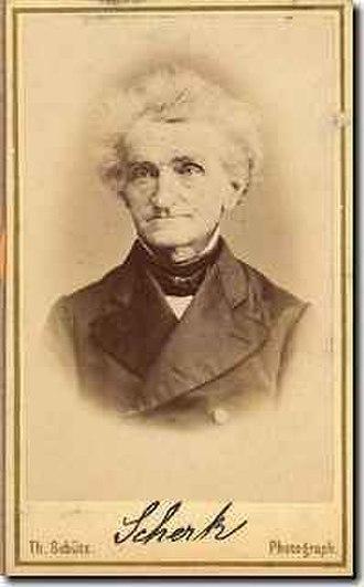 Heinrich Scherk - Heinrich Ferdinand Scherk