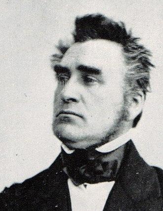 1848 German federal election - Image: Heinrich von Gagern 1848 (cropped)
