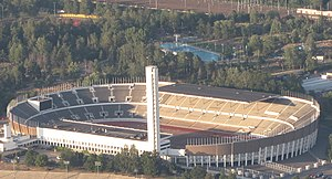 Helsinki Olympic Stadium from air (cropped).JPG