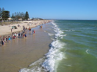 Henley Beach, South Australia - Henley Beach at Henley Beach