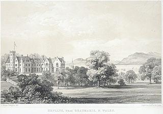 Henllys, near Beaumaris: N.Wales. seat of J. Lewis Hampton-Lewis Esqre