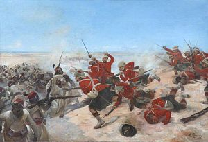 Battle of Tell El Kebir - Tell El Kebir by Henri Louis Dupray