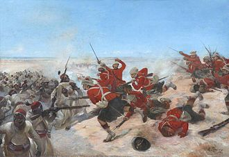 Battle of Tell El Kebir - Tell El Kebir by Henri Louis Dupray