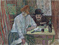 Henri de Toulouse-Lautrec - At the Café La Mie - Google Art Project.jpg