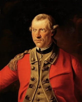 Henry Gladwin - Major-General Henry Gladwin, portrait by John Hall (1739–1797), Detroit Institute of Arts, Detroit, Michigan, ref. 53.6