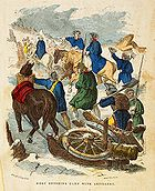 Henry Knox entering camp with artillery cph.3g09060