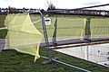 Heras fence in Lordship Recreation Ground Haringey London England.jpg