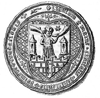 Kalisz - Mediaeval seal of the city of Kalisz