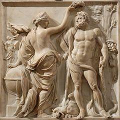 Hercule couronné par la Gloire