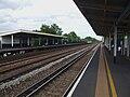 Hersham station look east.JPG