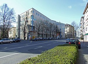 Frankfurt University of Music and Performing Arts - Image: Hfmubk eschersheimer ffm 001