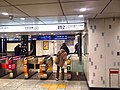 Hibiya line Ueno station new ticket gates - Jan 20 2018.jpg