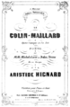 Hignard - Le Colin-maillard - title page of the piano score.png