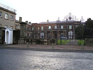 Hillsborough Castle - The official entrance of Hillsborough Castle