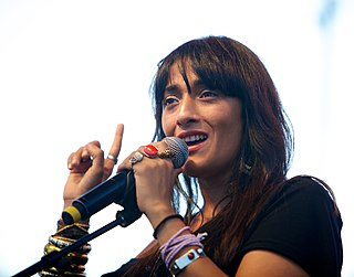 Franco-Moroccan singer and actress