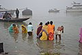 Hindu Devotees Taking Holy Dip In Ganga - Makar Sankranti Observance - Kolkata 2018-01-14 6794.JPG