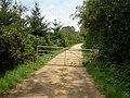 Hinton Park, gate - geograph.org.uk - 1295681.jpg