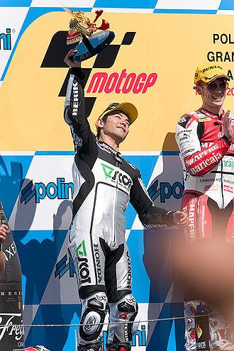 2009 Grand Prix motorcycle racing season - Image: Hiroshi Aoyama
