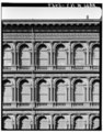 Historic American Buildings Survey, Cervin Robinson, Photographer March 1967, DETAIL OF BROOME STREET FACADE. - E. V. Haughwout and Company Building, 488-492 Broadway, New York, HABS NY,31-NEYO,70-3.tif