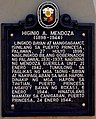 Historical Marker of Higinio Mendoza.JPG