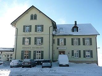 Blauen (Badenweiler) - Image: Hochblauen 08