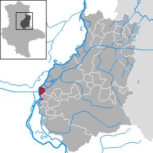 Hohenwarthe - Image: Hohenwarthe in JL
