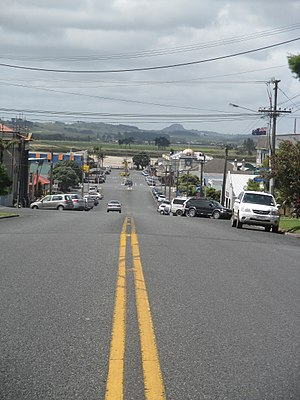 Dargaville - Hokianga Road, one of the main roads in Dargaville township