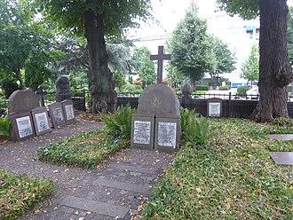 Steen Andersen Bille (1751–1833) - Steen Andersen Bille's grave at the Cemetery of Holmen