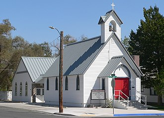 Holy Trinity Episcopal Church (Fallon, Nevada) - View from the northwest