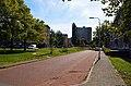 Hommelstraat met zich op woontoren aan de Heidebloemstraat, Hatertse Hei, Nijmegen.jpg