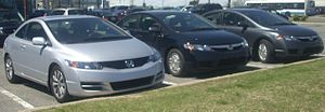 Honda Recalls Accords, Civics, Elements due to ignition switch